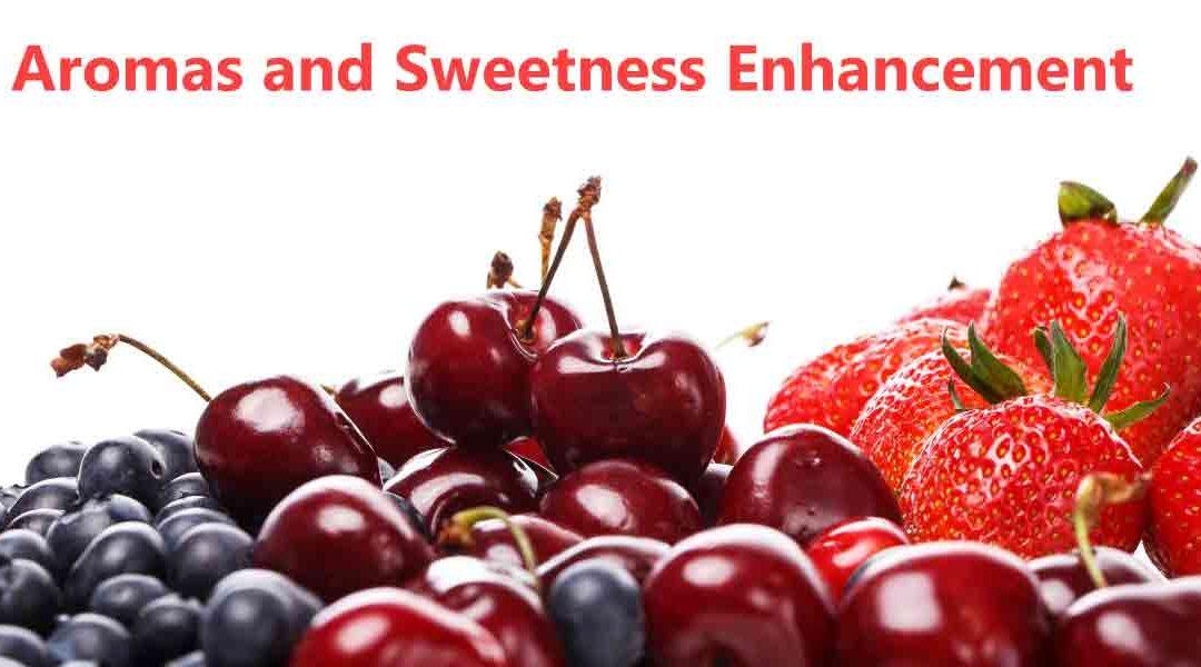 Emerging Research in Aromas & Sweetness Enhancement
