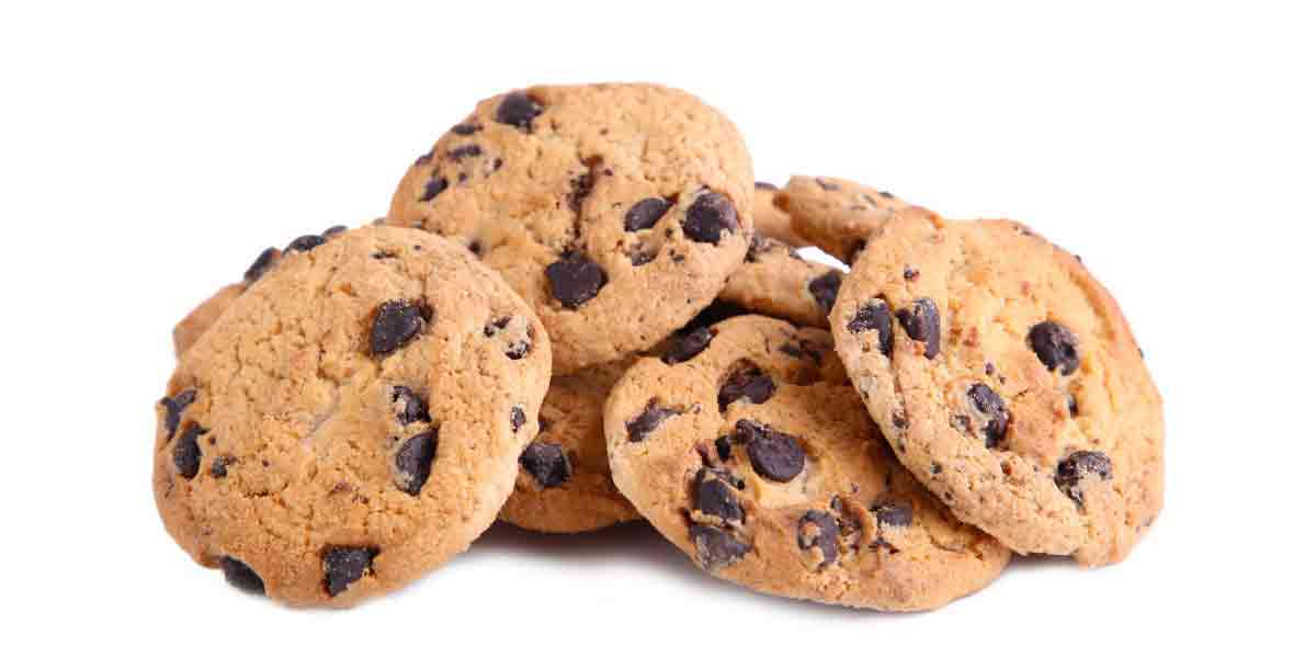 Cookies with reduced sugar.