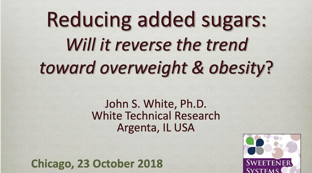 Reducing Added Sugars vs Obesity