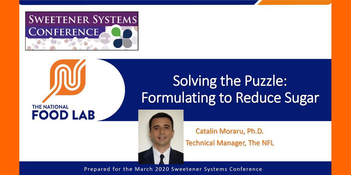 CATALIN MORARU FORMULATING TO REDUCE SUGAR 2020 SSC