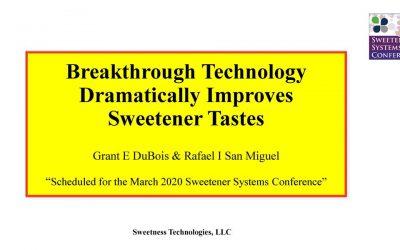 New Technology Improves Sweetener Tastes
