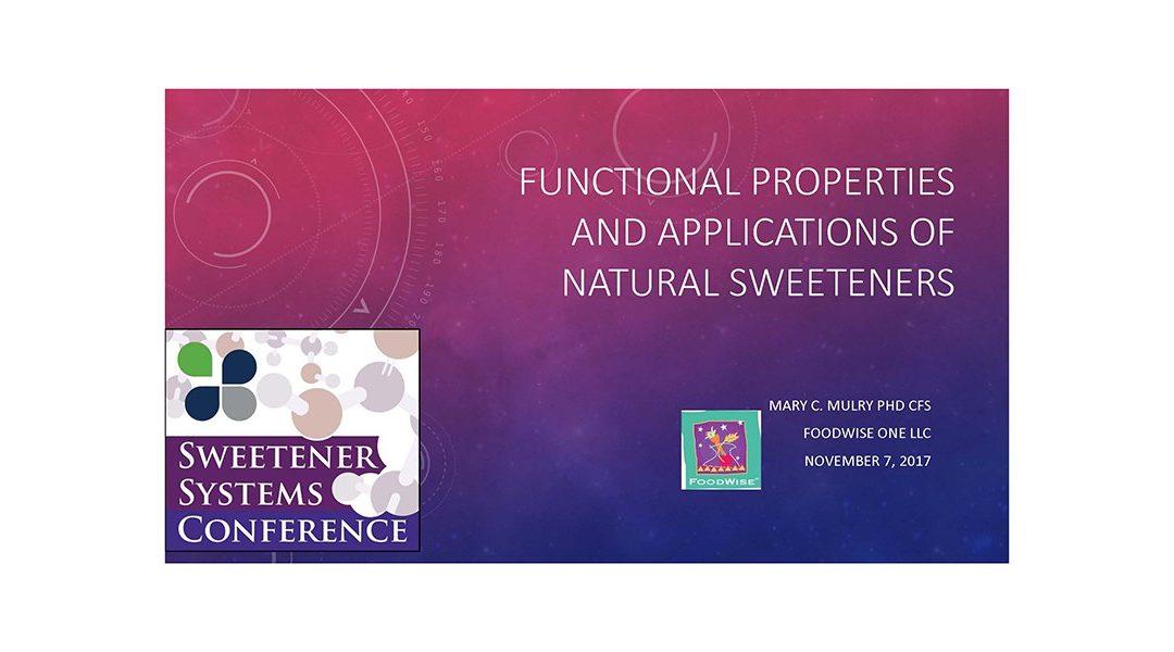 Natural Sweeteners Properties