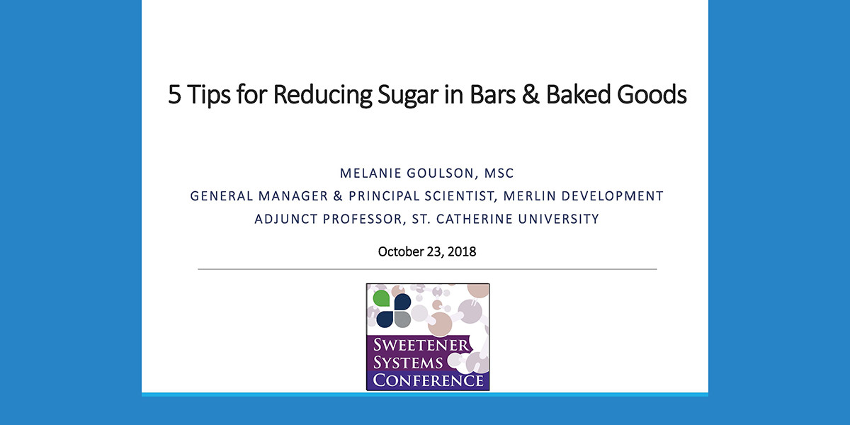 5 Tips for Reducing Sugar in Bars-Baked Products Presentation