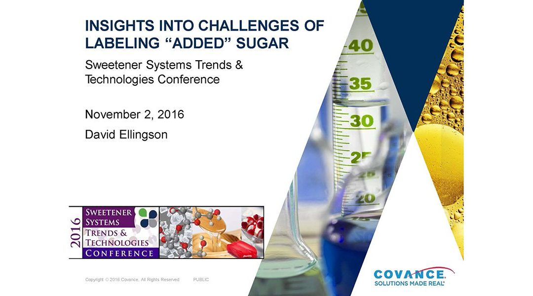Labeling Added Sugars Insights