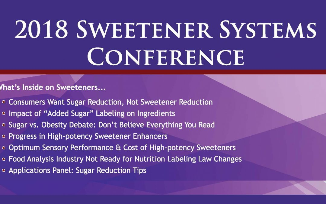 2018 Sweetener Systems Post Conference Magazine