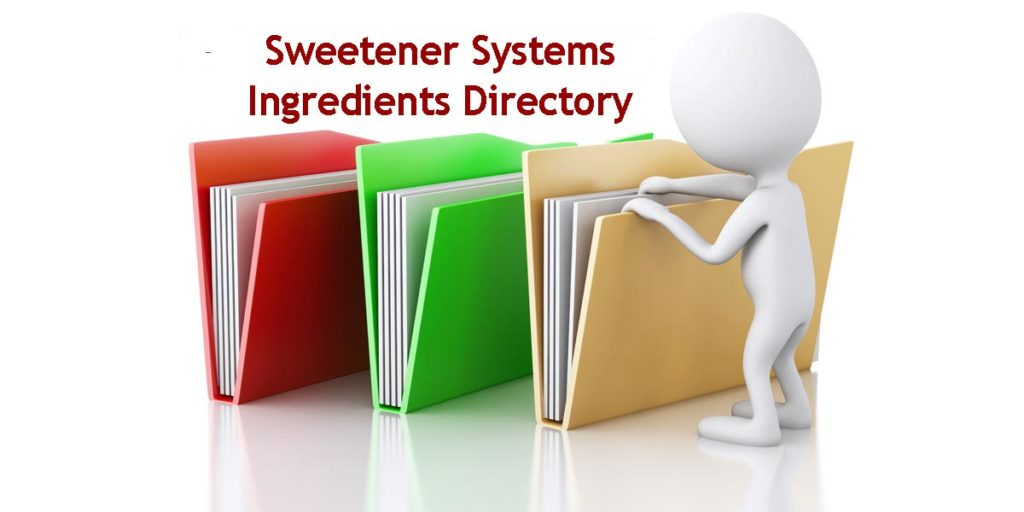 Sweetener Systems Ingredients Directory