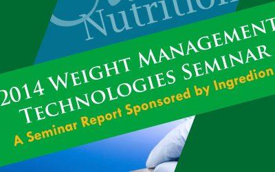 Weight Management Technology Seminar Magazine